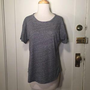 Madewell gray classic texture T-shirt short sleeve